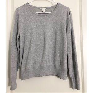 H&M Women's Soft Heather Gray Sweater L